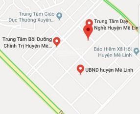 Bán đất vip tại trung tâm hành chính huyện Mê Linh, giá đầu tư