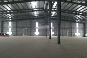 Cho thuê kho nhà xưởng tiêu chuẩn mới 100% tại KCN Quế Võ, Bắc Ninh, DT 2000m2, 4000m2,... 10.500m2