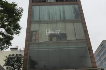 Cho thuê nhà phân lô Trung Yên 6, Cầu Giấy Hà Nội (Cách mặt đường Trung Hoà 10m). DT 110m2, 6 tầng