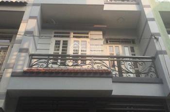 Gia đình cần bán căn nhà 1 trệt 2 lầu đúc, DT 5x17m, sổ hồng riêng đường nhựa 12m thuận tiện đầu tư