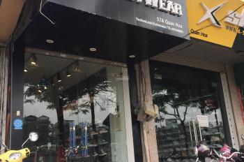Chính chủ bán nhà mặt phố Quan Hoa, Quận Cầu Giấy, Hà Nội (Số 57a, 33m2, 5 tầng, 8,6 tỷ)