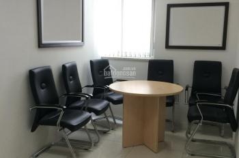 Cho thuê văn phòng gồm 1 trệt + 1 lầu lửng mặt tiền Quốc lộ 1A, tiện làm kho, KD đa ngành nghề