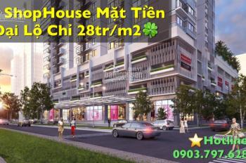 Shophouse Q. 8 (Diamond Riverside) - mặt tiền Võ Văn Kiệt - giá từ 28tr/m2 đã VAT - LH: 0903797628