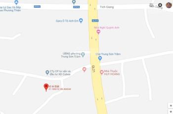 Bán đất 170m2 tại Trung Sơn Trầm, thị xã Sơn Tây. LH: 0969803813
