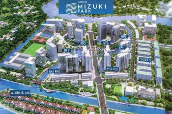 Bán CC Mizuki Park Nam Long, mặt đường Nguyễn Văn Linh, HT vay 70%, giá từ 1.75 tỷ 0907609089