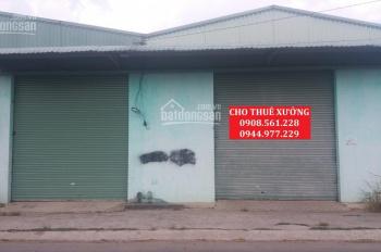 Cho thuê nhà xưởng nằm cạnh Metro Tân Thới Hiệp, Q. 12, 400m2, 15tr/tháng, LH: 0944.977.229