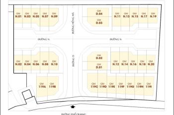 Cần bán căn nhà phố Golden Mansion 119 Phổ Quang, Phú Nhuận, giá: 23 tỷ, DT: 266m2, LH: 0973016838