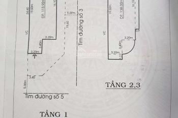 Nhà bán C25, đường Số 5, Mỹ Thạnh Hưng, P6, Mỹ Tho, Tiền Giang