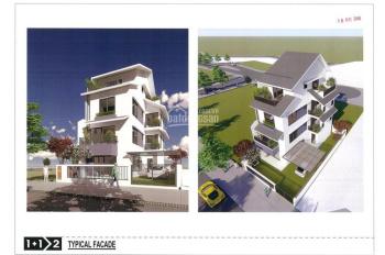 Biệt thự song lập Sl04-37 Azalea Homes Gamuda, 199m2, Bắc, 4 tầng thang máy, giá 18,4 tỷ, 2-2020