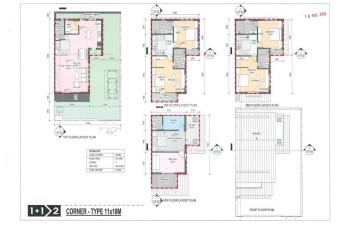 Khu cuối cùng biệt thự SL04-18 Azalea Homes Gamuda Gardens, 162m2, giá 15.2 tỷ, 2-2020 bàn giao