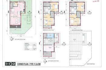 Khu biệt thự cuối cùng Gamuda Gardens, Azalea Homes, 162m2, 4 tầng, thang máy, TB, giá 15.2 tỷ