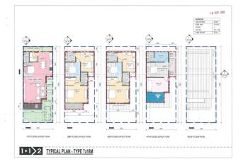 Bán biệt thự cuối cùng Azalea Homes Gamuda Gardens 12.3 tỷ, Tây Bắc, 4 tầng, Quý 2-2020 bàn giao