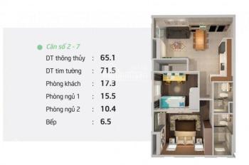 Chính chủ cần tiền bán gấp căn hộ Mermaid Seaview tầng 16 căn góc, DT: 71.5m2, giá: 2.840 tỷ