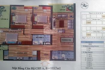 Chính chủ bán căn 123,7m2 tòa CT4 Vimeco, Nguyễn Chánh. Giá 29tr/m2, CC: 0904 897 255