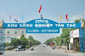 Trí BĐS, 20.000m2 có 10.000m2 nhà xưởng, mặt tiền Quốc Lộ 1A, đối diện khu Pouchen, Tân Tạo