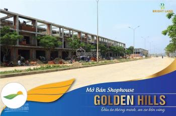 Chính chủ cần tiền bán căn shophouse 4 tầng Golden hills, cắt lỗ 200tr so với giá gốc chủ đầu tư