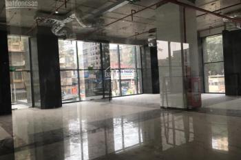 Cho thuê mặt bằng kinh doanh tầng 1, lô góc 2 mặt tiền, chung cư 99 Láng Hạ, 188m2, LH: 0988138345