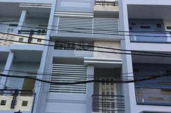 Bán gấp căn nhà phố Cư Xá Phú Lâm D, KDC Bình Phú, ngay chợ Hồ Trọng Quý, DT 4x17,5m, 2 lầu