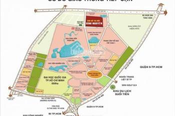 Bán gấp KĐT Bình Nguyên ngay làng ĐHQG TP HCM, sổ đỏ riêng, TC 100% chỉ 14tr/m2, 0968336811 Bình