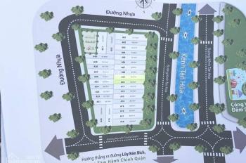 Bán đất Tân Phú 4MT Kênh Tân Hóa đối diện Đầm Sen, giá 1.7 tỷ/nền, 5x16m LH 0932124234 A. Long