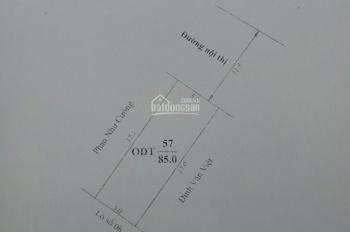 Bán 4 lô đất thông nhau mặt đường Quốc Lộ 6, mỗi lô giá 1,35 tỷ