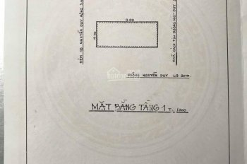 Bán nhà cấp 4 đường Nguyễn Duy, P9, Q8. DT: 4,1x9.9m = 40,5m2. Chính chủ bán, đến nhà xem sổ hồng