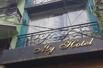 Cho thuê khách sạn ngay Bùi Viện, Phạm Ngũ Lão, Q. 1, 6 tầng, 9 phòng, giá 70 tr/tháng