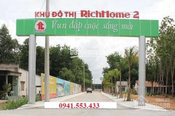 Bán gấp lô đất trong khu Richhome 2, Hòa Lợi, cách TP Mới Bình Dương 2km