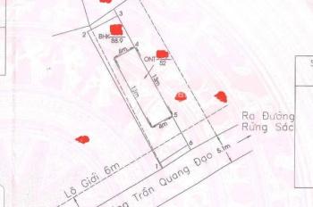 Cần tiền bán gấp nhà đất tại Bình Khánh, Cần Giờ, DT 140m2 (chính chủ, có sổ hồng)