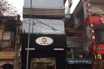 Cho thuê mặt phố Hàng Bún 45m2, MT 6.5m, nhà 4 tầng