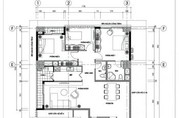 Cần bán căn số 5, tháp T1 tầng cao chung cư N04B khu Ngoại Giao Đoàn, LH 0904 903 669