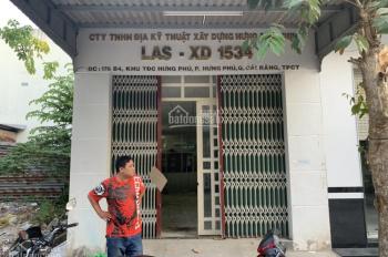 Cho thuê nhà khu dân cư Hưng Phú 1, LH: 0917811866
