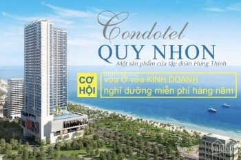 Căn hộ Condotel mặt tiền biển, giá 1,5 tỷ/căn, đầu tư sinh là lời ngay, LH 0938709769