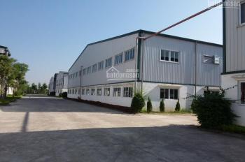 Bán/chuyển nhượng nhà xưởng khu Mỹ Hào, Hưng Yên, DT 10.000m2 đến 1000.000m2