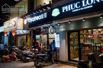 Cho thuê kiot chân 4 tòa chung cư Nguyễn Tuân 75m2, MT 9m tiện làm ngân hàng, siêu thị, thực phẩm