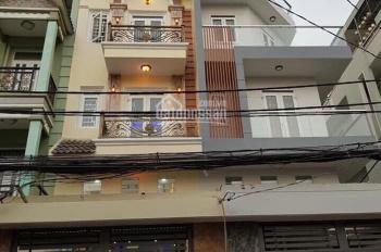 Bán nhà mặt tiền đường Gò Xoài, Bình Tân, vị trí rất đẹp, KD tốt, 4x25m, 3 tấm, gần chợ, khu sam ua
