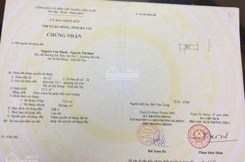 Cần bán gấp nhà mặt phố Bà Triệu kinh doanh cực đỉnh, dt 53,4m2, giá 95tr/m2, có TL. Lh 0917289939