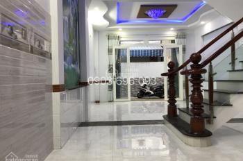 Nhà bán phường 12, Gò Vấp 5.65 tỷ đúc 1 trệt, 3 lầu DT 5.3 x 11m đường Phan Huy Ích hướng Đông Bắc