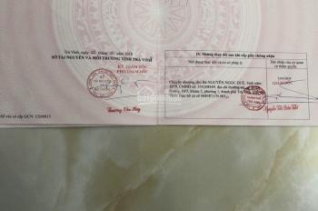 Đất Mặt Tiền 20m Ngang Đường Nguyễn Thái Học Ngay Gần Chợ Trà Vinh LH: 0975.79.1212