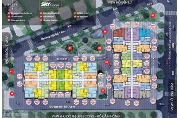 Chính chủ bán gấp CH 176 Định Công tầng 16-07 (66m2) và 18-05(78m2), 27 tr/m2, 0981 917 883