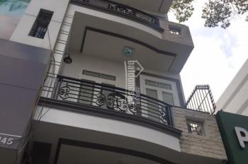 Cho thuê nhà MT Nguyễn Cư Trinh - Q.1. Diện tích: 4,3m x 17m; Trệt 3 lầu ST