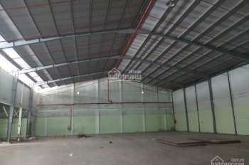 Cho thuê kho xưởng 1100m2 Quốc lộ 1A, ngay gần vòng xoay An Lạc. Container 24/24, PCCC