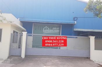 Cho thuê, nhà xưởng cụm công nghiệp P. Hiệp Thành, Quận 12. DT 2200m2, giá 80 tr/th, 0944.977.229