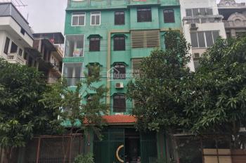 Cho thuê nhà MP Hòa Mã 100m2, 6 tầng, MT 5m, có thang máy, giá thuê 87.97 tr/th. LH Tuấn 0936843923