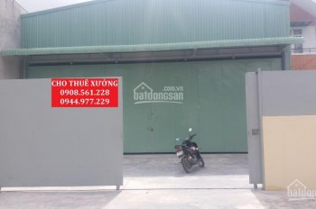 Cho thuê nhà xưởng đường Nguyễn Văn Quá, Quận 12, DT: 500m2, giá 25 triệu/tháng, LH: 0937.388.709