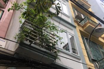 Cho thuê nhà mới xây sắp hoàn thiện mặt ngõ Nguyễn Ngọc Vũ, diện tích 55m2 x 5 tầng, 20 triệu/th