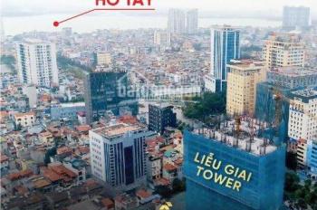 Bán căn 70m2, 2PN Liễu Giai Tower CK 10% GTCH, tặng chuyến du lịch Châu Âu, gói nội thất 50 triệu