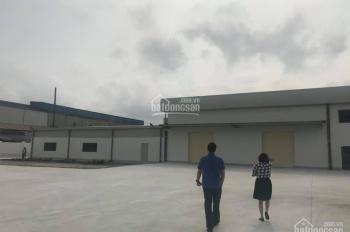 Cho thuê 13000m2 đất có xưởng trong KCN Hải Dương, có nhà xưởng sẵn, bàn giao mặt bằng ngay