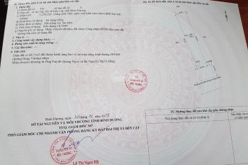 Chính chủ cần bán 15x84m, mặt tiền đường Hùng Vương, cổng KCN Rạch Bắp - An Điền