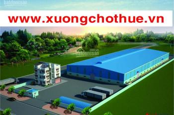Xưởng cho thuê Thuận An Bình Dương 1400m2, giá 40 triệu/tháng, LH: 0935464228